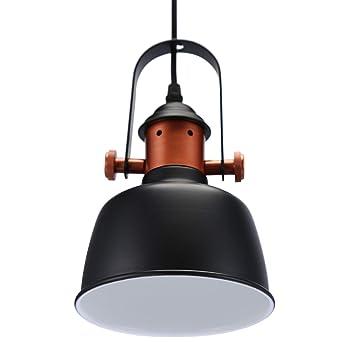 Glighone Pendelleuchte Esszimmerlampe Hangelampe Industrial Retro Pendellampe Lampenschirm Deckenleuchte Hangend Vintage Lampe E27 Fur Wohnzimmer