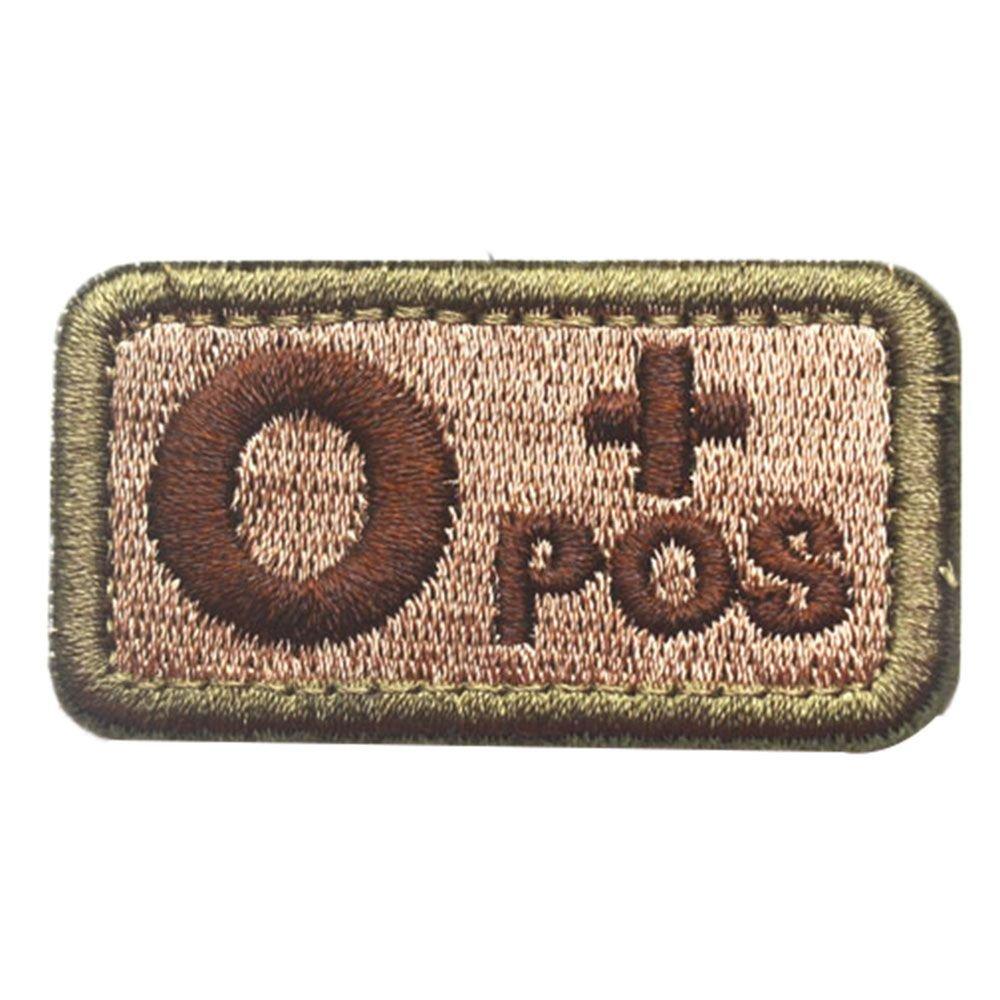GGG A B O AB + POS sang type SWAT tactique militaire Patch Bande armée Moral badge