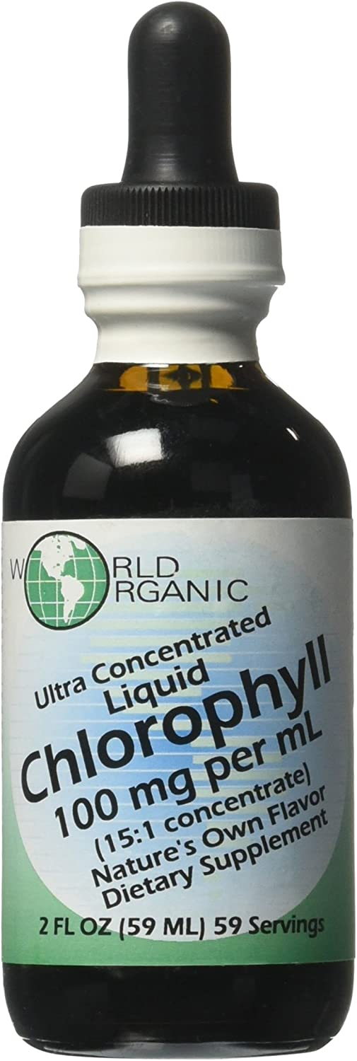 Ultra Concentrated Liquid Chlorophyll 2 Ounces