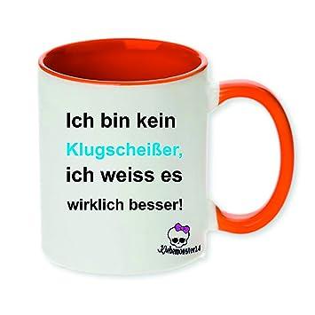 Tasse Mit Spruch Ich Bin Kein Klugscheißer Geschenk Geburtstag