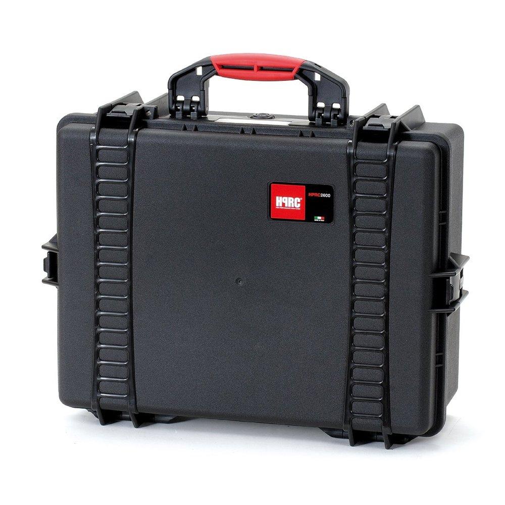 HPRC 2600F Hardcase (TX01 Material, 34 Liter Volumen, mit Schaumstoff zum Zuschneiden) schwarz