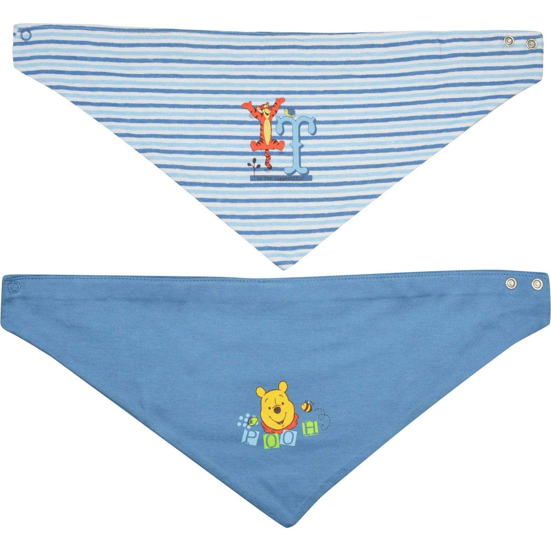 Winnie Puuh - Baby HalstuchPuuh/Tigger, 2er Pack, blau