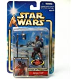 Star Wars Saga 2002 Attack of The Clones Jango Fett Kamino Escape