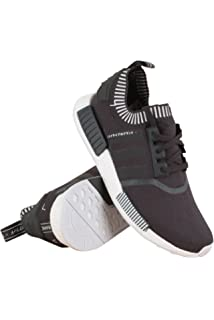 adidas Originals NMD R1 Primeknit Runner Boost W (black / light blue