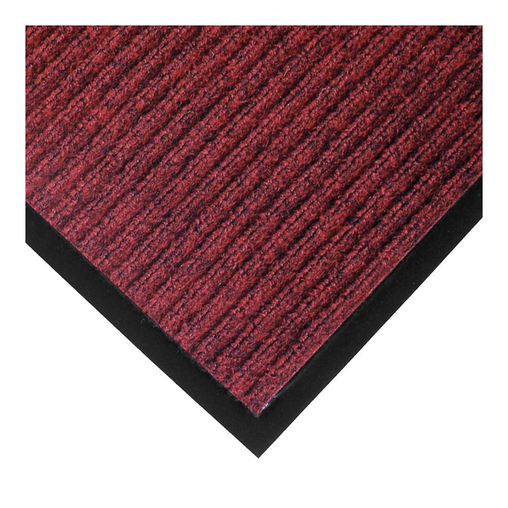 Notrax 117 Heritage Rib Entrance Mat, for Home or Office, 3' X 6' Red/Black (117S0036RB)