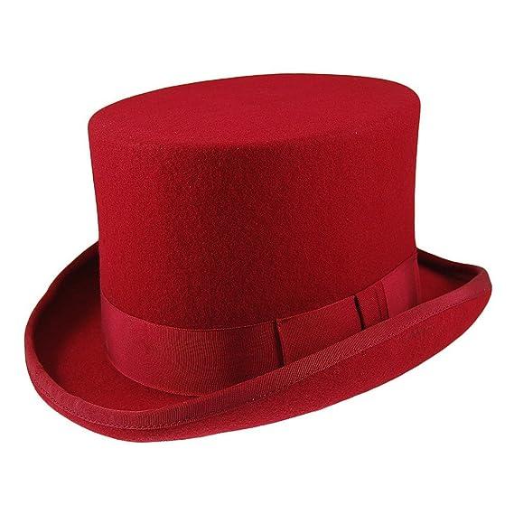 Black Christys/' Hats Wool Top Hat