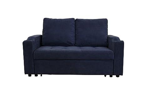 Amazon.com: MiniMax Decor New Modern 2 in 1 Pullout Sofa ...