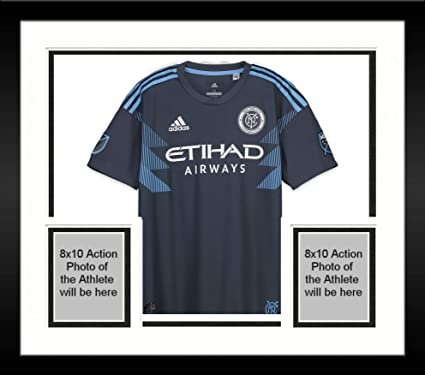 20beaf97a Framed Ben Sweat New York City FC Autographed Match-Used Gray  2 ...