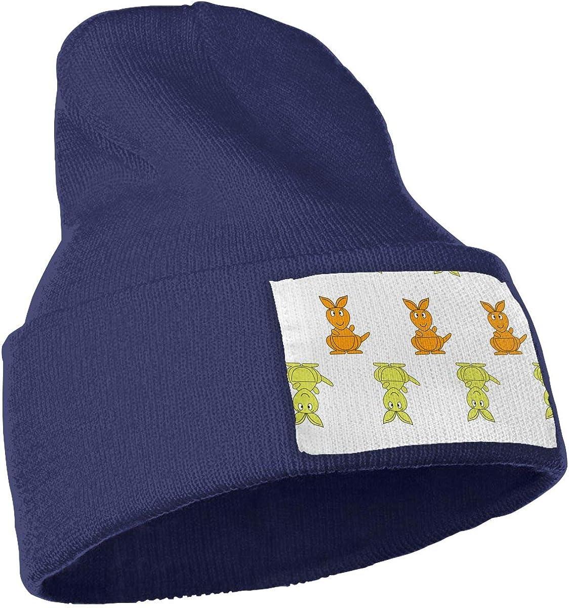 Cartoon Kangaroo Unisex Winter Knitting Woolen Hat Warm Cap