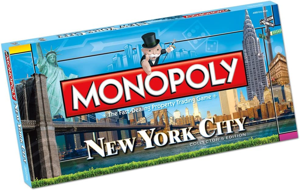 Monopoly: New York City Collectors Edition: Monopoly: New York City Collectors Edition: Amazon.es: Juguetes y juegos