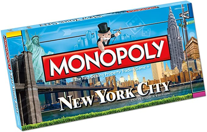 Monopoly: New York City Collectors Edition: Monopoly: New York City Collectors Edition: Amazon.es: Juguetes y juegos