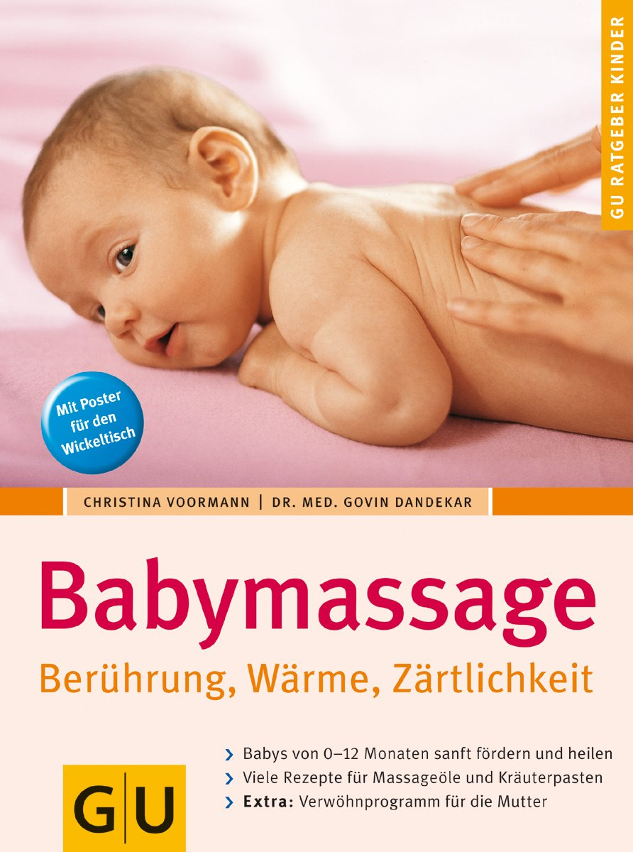 Babymassage 9783774266995 Amazoncom Books