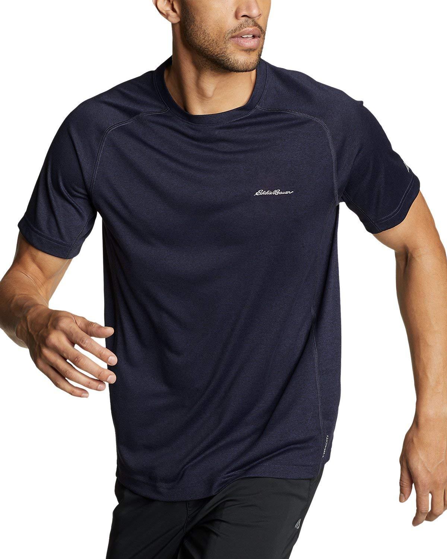 Eddie Bauer Men's Resolution Short-Sleeve T-Shirt, Atlantic Regular S