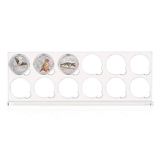 Präsentationsbox Für 12 X 3 Euro Münze Der Serie Tier Taler Mit