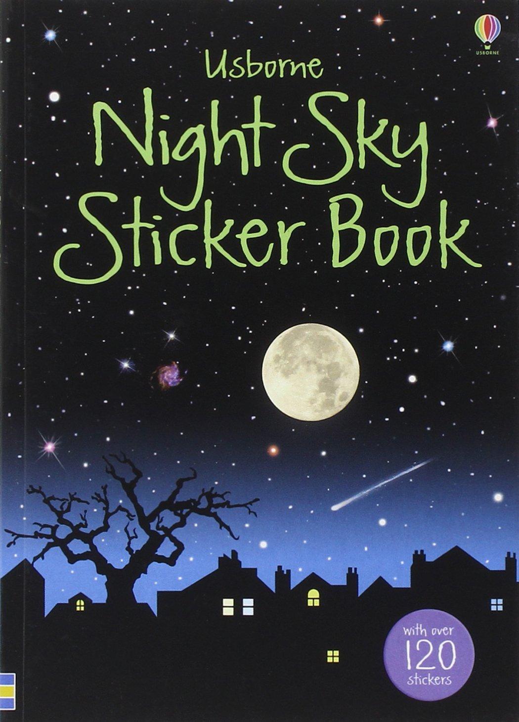 Read Online Night Sky Sticker Book pdf epub