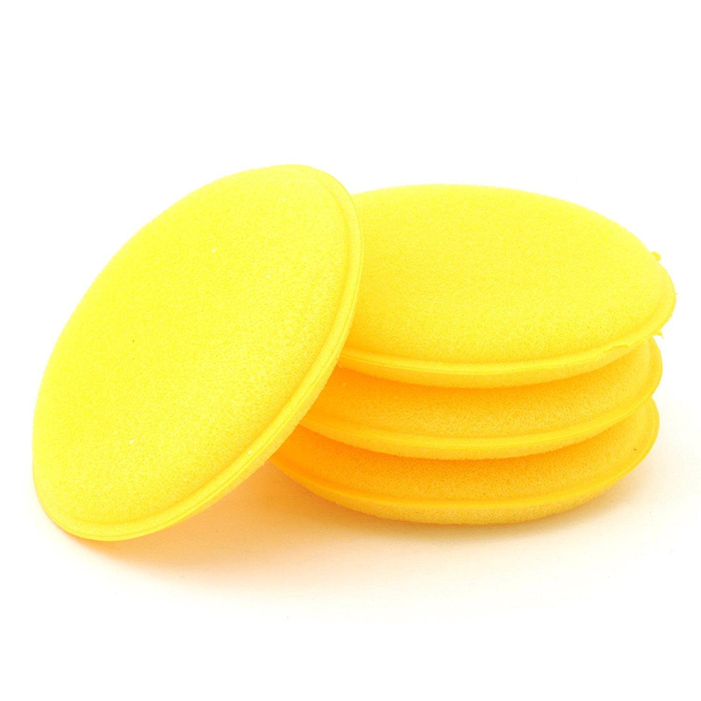 Fichen 12xWax Polish Foam Sponge Applicator Pads Auto Glass Auto Wax Applicator Pads