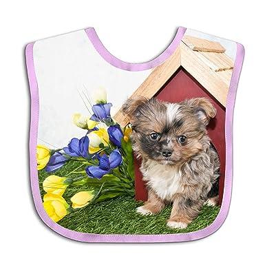 Baby Bandana Cute Yorkie Puppy Drool Bibs - Cute Unisex Design for Boys and  Girls a2a20b0eaf
