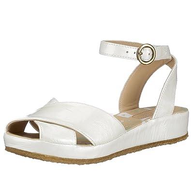 1438fe5845a3 Clarks Originals Vanilla Cream 2032 3901, Damen Sandaletten, weiss, (white  patent)