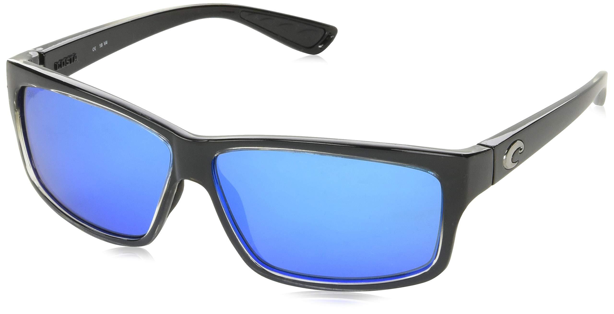 Costa Del Mar Cut 580G Cut, Squall Blue Mirror, Blue Mirror