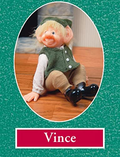 Zims 6 The Elves Themselves Vince Collectible Christmas Elf Figure