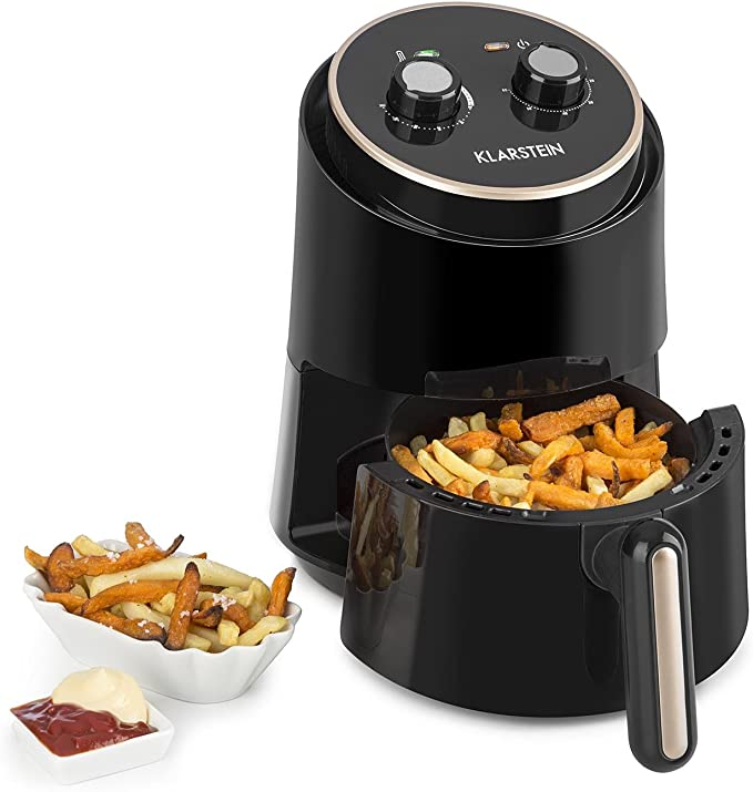 Klarstein Well Air Fry - Freidora, Freidora de aire caliente, Freír sin grasa, Hornear, Cocinar,...