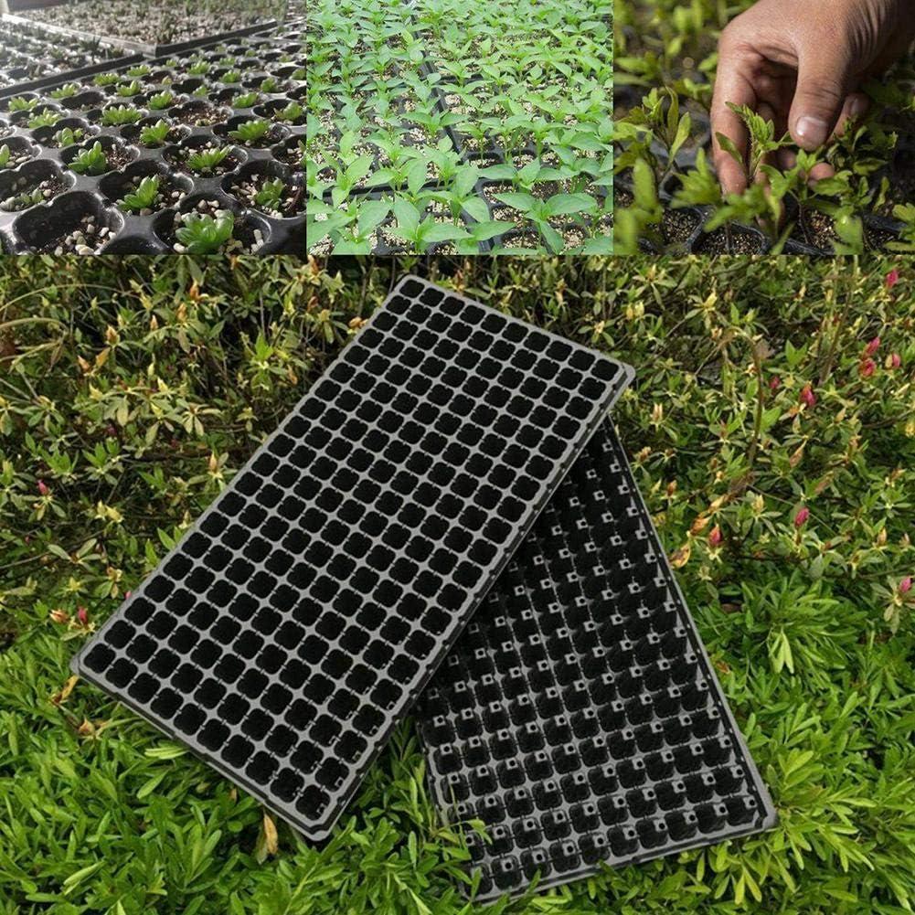 josietomy Pot Semis 2Pcs 200Trous Plateau de Semis en PP Pot de Plantation Pots de Germination pour Fleur et Plante Semis Size 200 Trous Usual