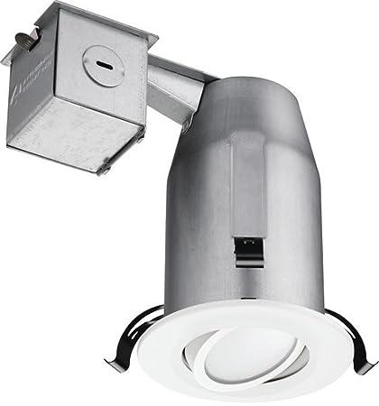 amazon com lithonia lighting lk3gmw led lpi m6 3 inch gimbal kit