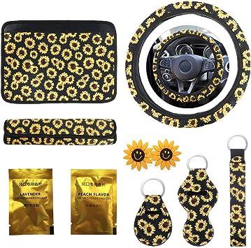 Cute Sunflower Car Accessories