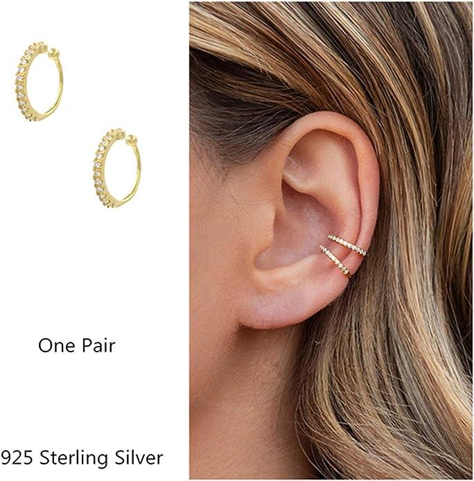 Georgian replica smiling sun silver plated earrings screw fitting for non pierced ears