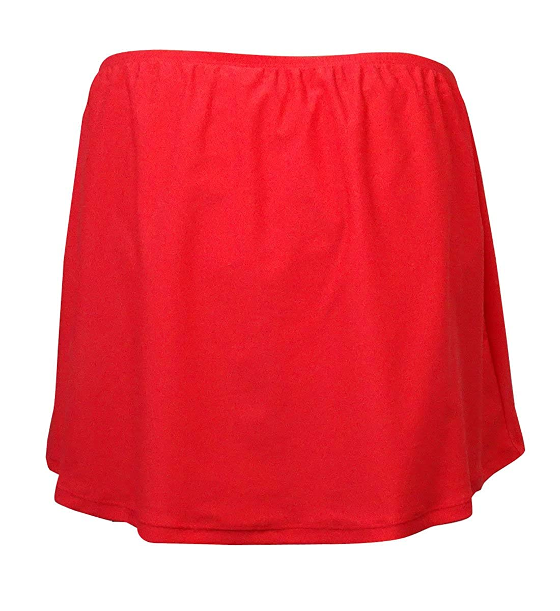 3f32ebca49c Amazon.com: Island Escape Women's Plus Size Swim Skirt Bikini Bottom Bathing  Suit (Coral, 22W): Clothing