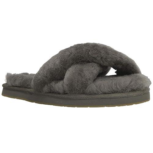6f7f6637fd2 UGG Abela Natural Shearling Slipper  Amazon.co.uk  Shoes   Bags