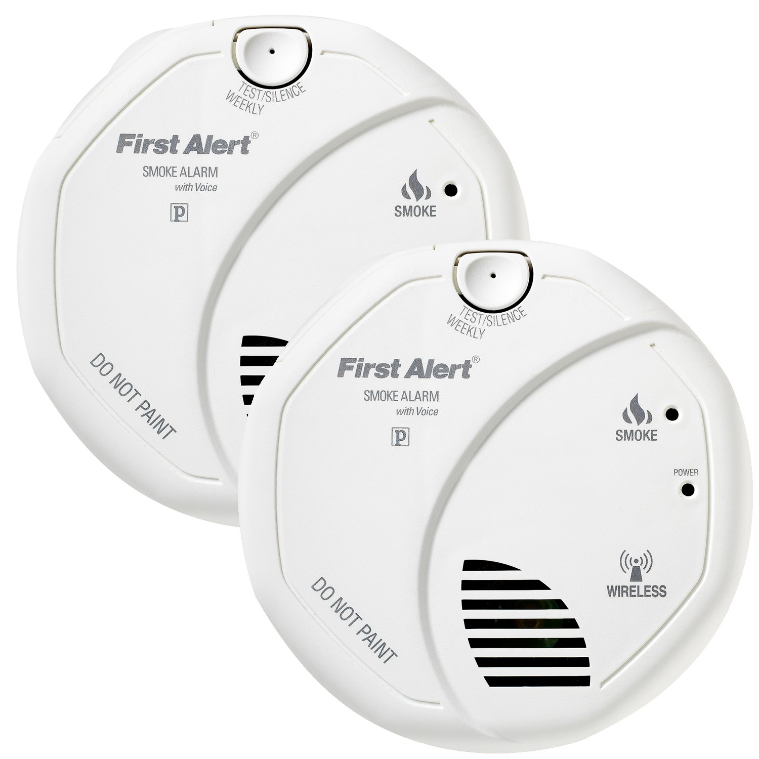 first alert sa511cn2 3st interconnected wireless battery operated smoke alarm. Black Bedroom Furniture Sets. Home Design Ideas