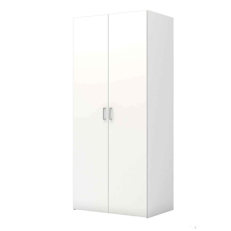 Tvilum 704174949 Space Wardrobe with 2 Doors, White