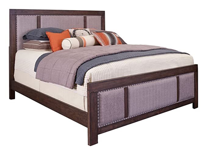 Amazon.com: Broyhill Larimer Square Upholstered Bed, King: Kitchen & Dining