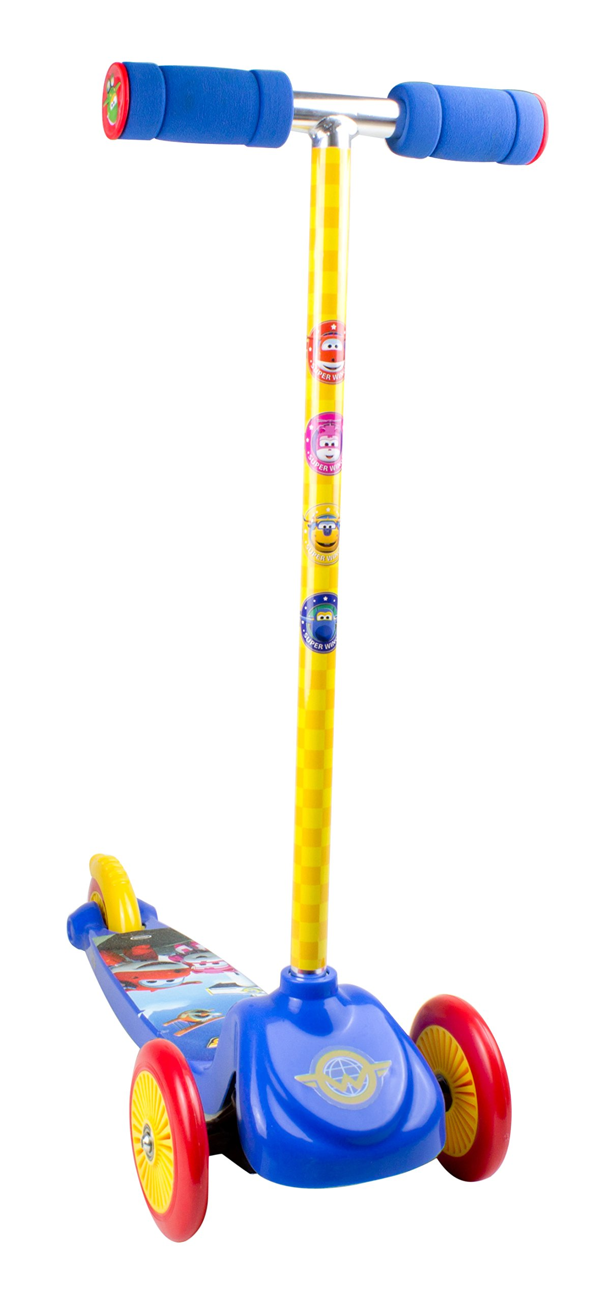 Super Wings OSWI199 3 Wheels Scooter with System Flex