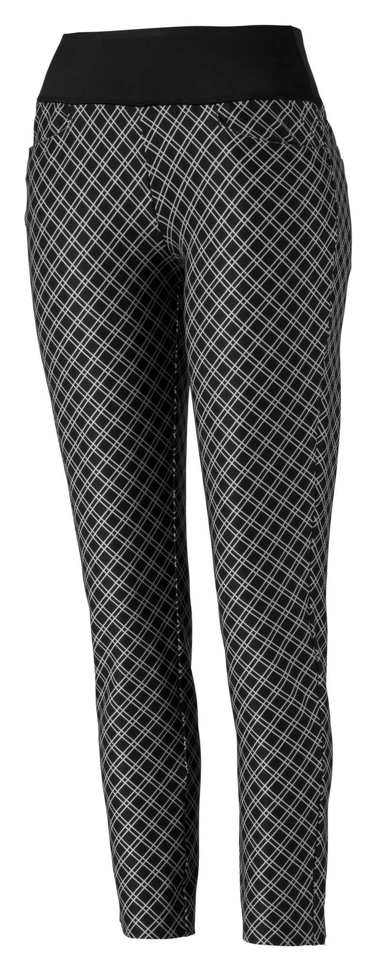 Puma Golf Women's 2019 Pwrshape Checker Pant, Puma Black, x Large by PUMA