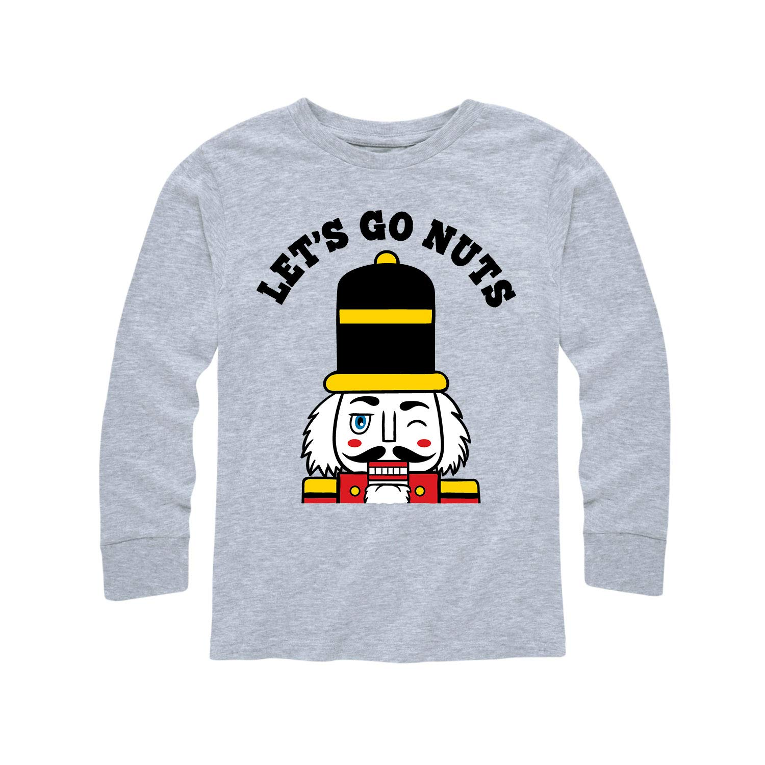 Instant Message Lets Go Nuts Toddler Long Sleeve Tee