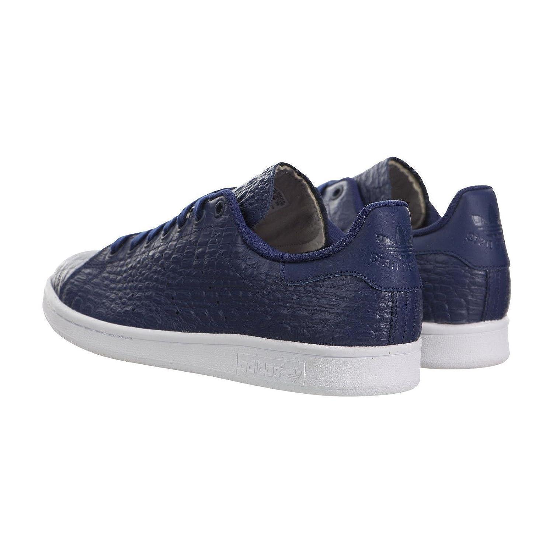 Adidas Stan Smith Unisex-Sandalen Unisex-Sandalen Unisex-Sandalen mit Plattform für Erwachsene, Blau - dunkelblau dunkelblau frostweiß - Größe  12 D(M) US e2af69