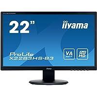 "Iiyama X2283HS-B3 Ecran PC 21.5"" LED 1920 x 1080 4 ms HDMI/VGA Noir"