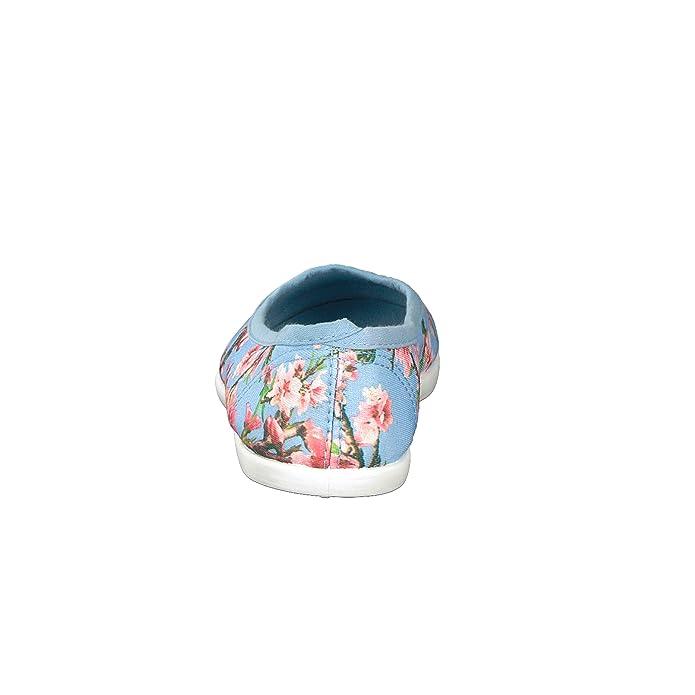 Brandsseller Damen Freizeitschuh Ballerina - mit Blumendruck - Größen   36-41 - Farben  Schwarz, Mint, Hellblau  Amazon.de  Schuhe   Handtaschen 59debca6e3