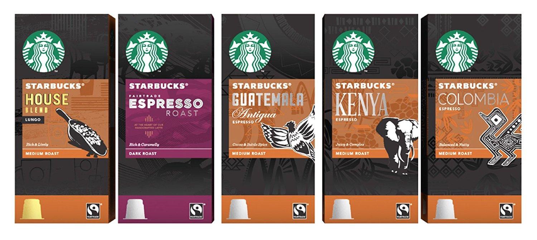 Starbucks Espresso Capsules Compatible with Nespresso Original Line Machines - Variety Assortment 50 Count: Amazon.com: Grocery & Gourmet Food