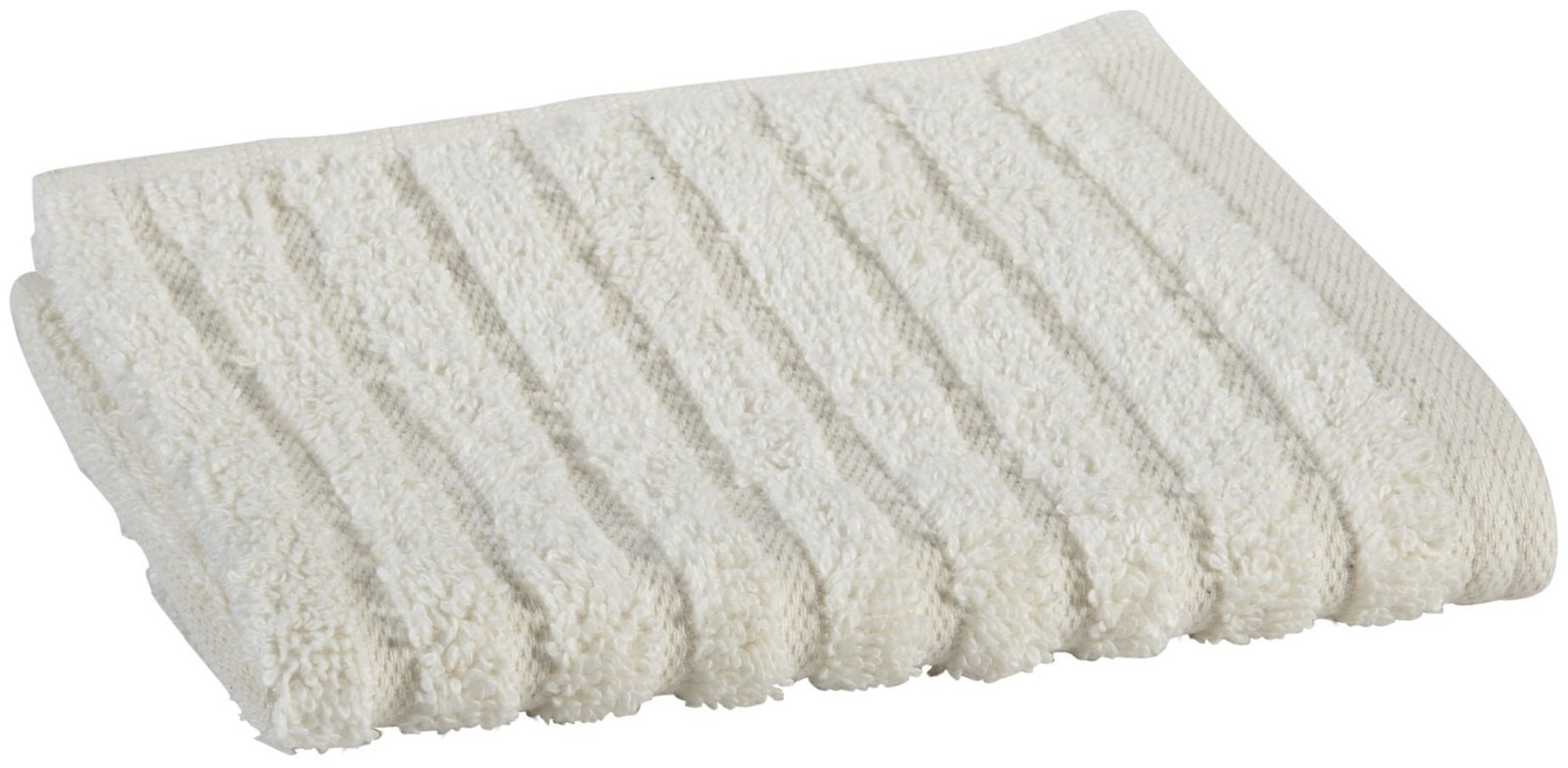glo Organic Stripe (Natural)-Wash Cloth