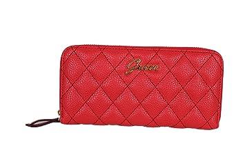 GUESS Damen Geldbörse Geldbeutel Portemonnaie rot: