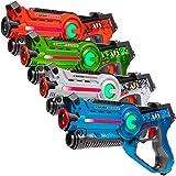 Light Battle Active Laser Tag Game Set for Kids. Laser Tag gun: green, orange, blue and white | LBAP1041234DP1