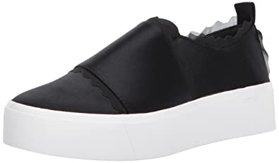 Calvin Klein Women's Jameelah Sneaker, Black, 5 Medium US
