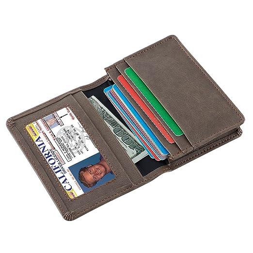 brand new 17295 4e34f Slim Card Case Front Pocket Wallet Minimalist Credit Card Holder ...