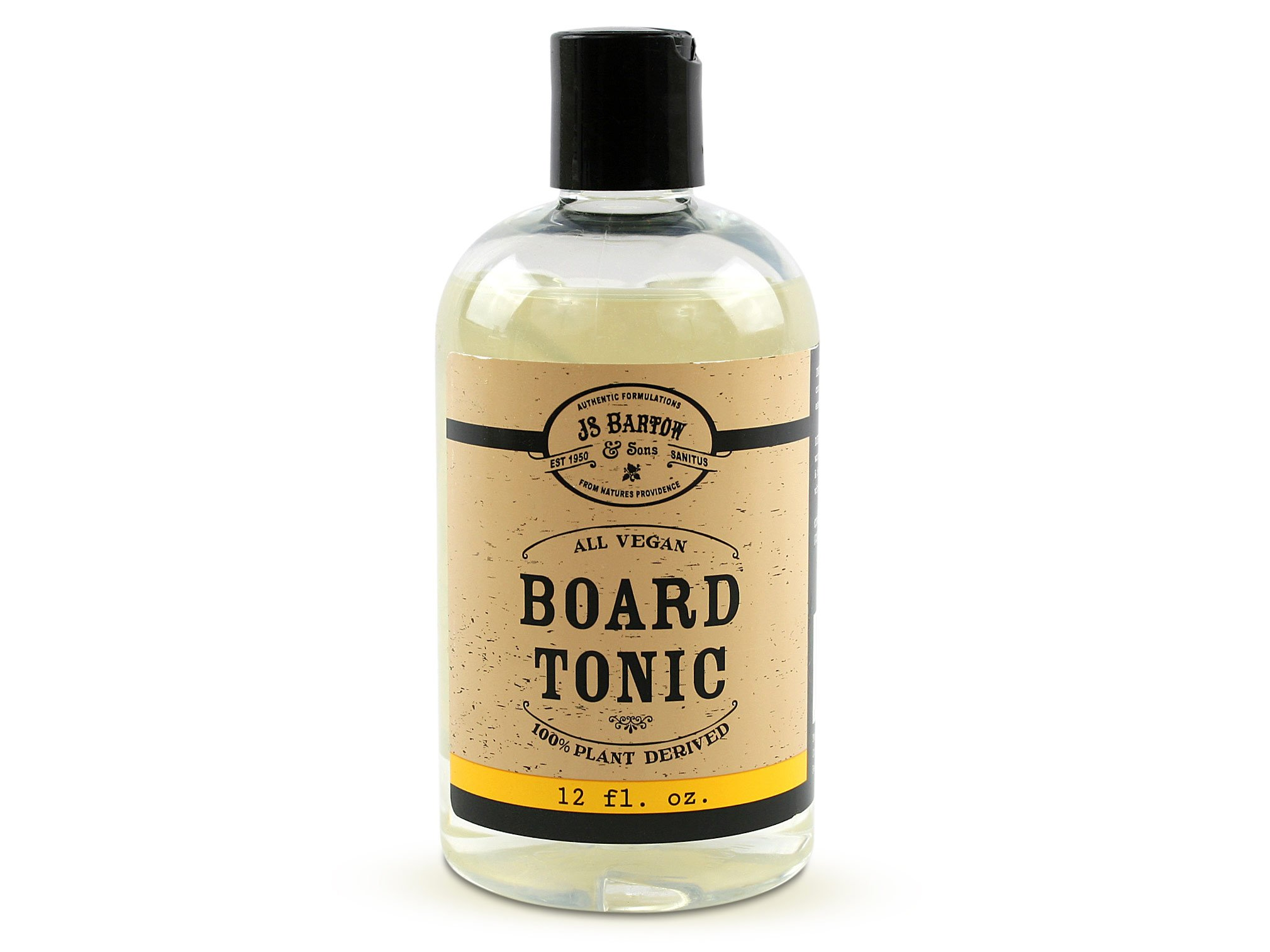 Bartow and Sons Vegan Cutting Board Oil, Natural, Edible, Food Safe Tonic Restores Bamboo & Wood