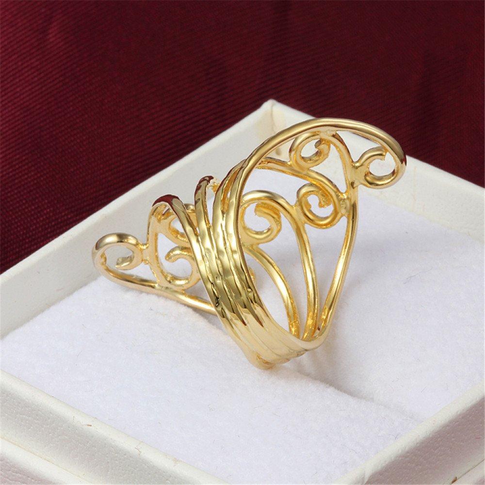 Amazon.com: Joyería antigua chapada en oro de 18 quilates ...