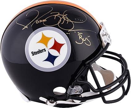 new concept c6a8d a4af9 Autographed NFL Helmets Riddell Authentic Proline Steiner ...
