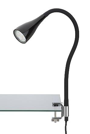 Briloner Leuchten LED Klemmleuchte Klemmspot Klemmlampe Tischleuchte Anklemmleuchte Tischlampe